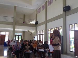 Sesi Motivasi oleh UKM Center UI